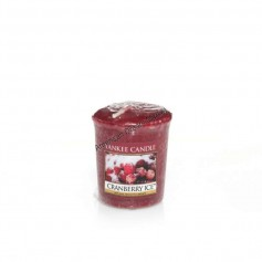 Votive cranberry ice