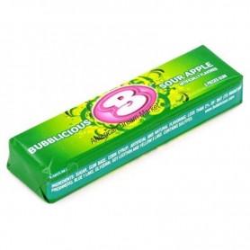 Bubblicious bubble gum sour apple