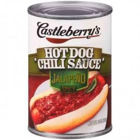 Castleberry's hot dog chili sauce jalapeno