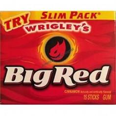Wrigley's big red cinnamon gum slim pack