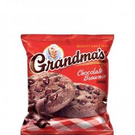 Grandmas chocolate brownie cookie
