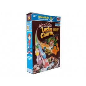 LUCKY CHARMS CHOCO CEREALS 12oz