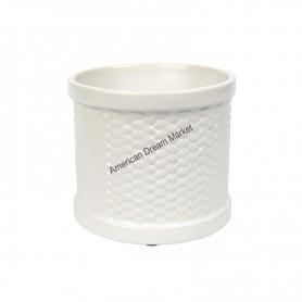 Scenterpiece warmer Weave white