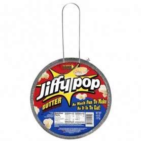 Jiffy pop butter pop corn