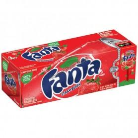 Fanta fraise pack 12