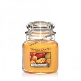 Moyenne jarre mango peach salsa