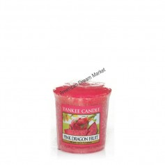 Votive pink dragon fruit