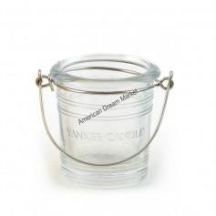 Support votive bucket transparent