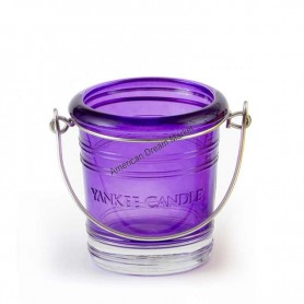 Support votive bucket violet