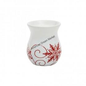Bruleur à tartelette snowflake ceramic