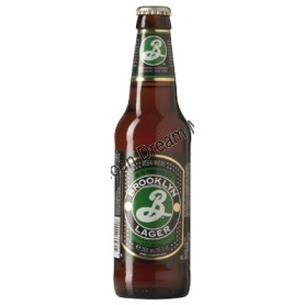 BROOKLYN LAGER BEER - BIERE BOUTEILLE