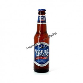 SAMUEL ADAMS BOSTON LAGER- BIERE BOUTEILLE