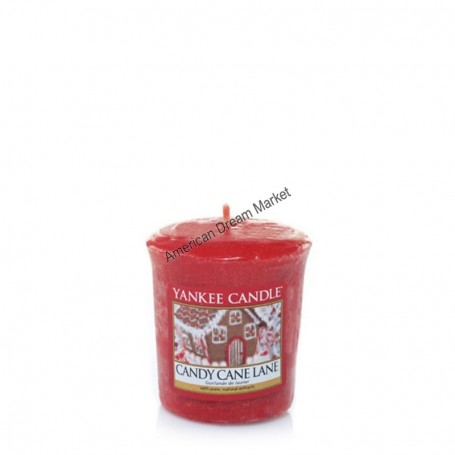 Votive candy cane lane