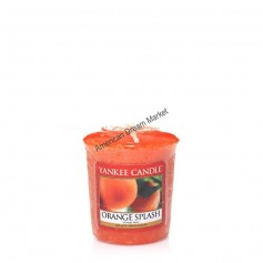 Votive orange splash