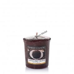 Votive cappuccino truffle