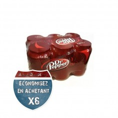 Dr Pepper Pack de 6 Canettes