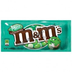 m&m's Dark mint - 42,5 Gr