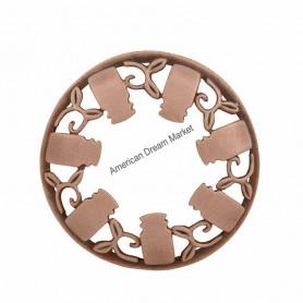 Illumalid guirlande jarre bronze