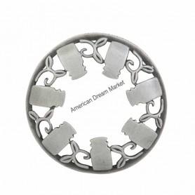 Illumalid guirlande jarre brushed silver