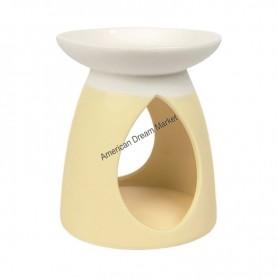 Bruleur à tartelette pastel hue yellow