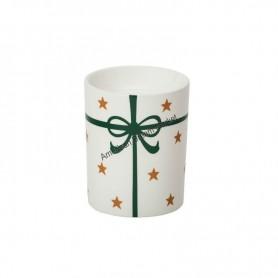 Bruleur à tartelette present green ribbon