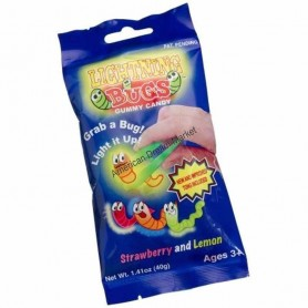 Lithning bugs gummy candy