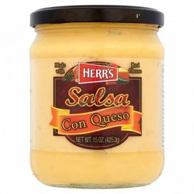 Herr's salsa con queso