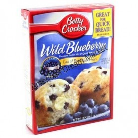 Betty Crocker preparation muffin blueberrie myrtilles