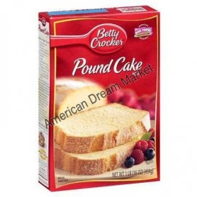 etty Crocker pound cake mix