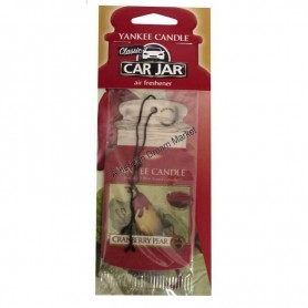 Classic car jar cranberry pear