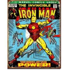 Iron man comic cover