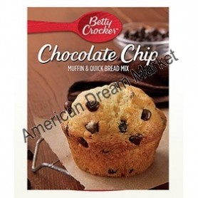 Betty Crocker chocolate chip muffin