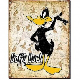 Daffy duck retro panels