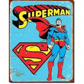 Superman retro panels