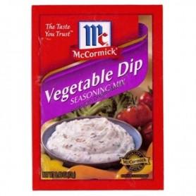 Mc cormick vegetable dip