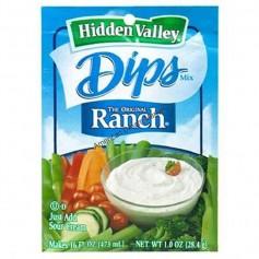 Hidden valley ranch dips