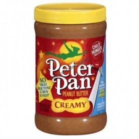 Peter pan peanut butter creamy