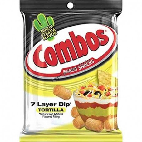 Combos cheddar cheese cracker GM