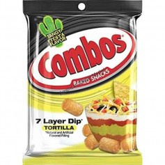 Combos 7 layer dip tortilla GM