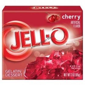 Jell-O Gellée aux cranberry