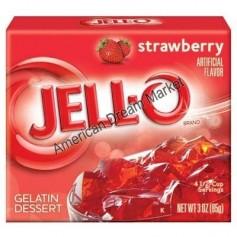 Jell-O Gellée à la fraise