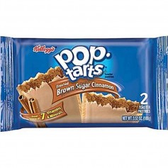 Kellogg's Pop tarts single brown sugar cinnamon