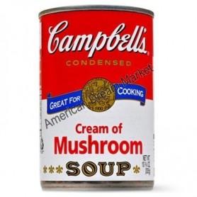 Campbells' cream of mushroom
