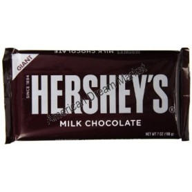 Hershey giant milk chocolate