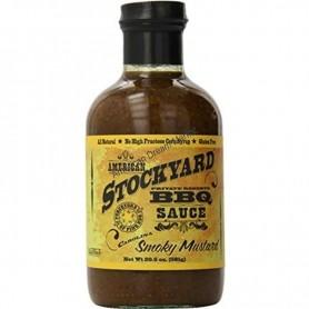 American stockyard bbq sauce smoky mustard
