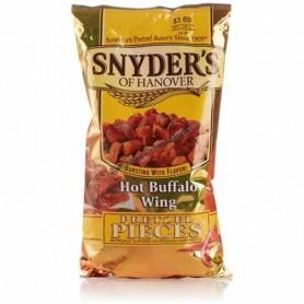 Snyder's of hanover pretzel pieces cheddar cheese GM