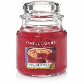 Petite jarre rhubarb crumble