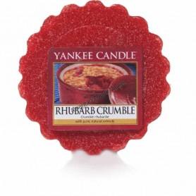 Grande jarre rhubarb crumble