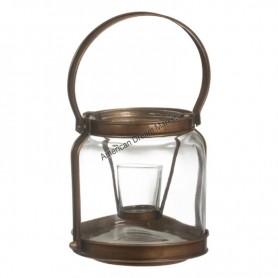 Photophore copper lantern