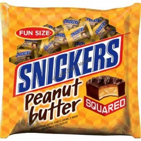 snickers peanut butter square